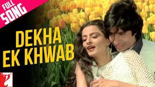 Dekha Ek Khwab To ye Silsile hue | Kishore Kumar  |Film- Silsila(1981) | Amitabh Bachchan, Rekha
