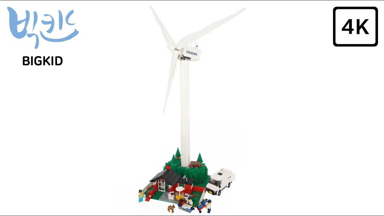 LEGO Creator 10268 Vestas Wind Turbine - Lego Speed Build 4K