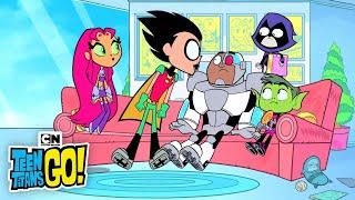Video Teen Titans Go! | Spin The Bottle! | Cartoon Network download MP3, 3GP, MP4, WEBM, AVI, FLV Agustus 2017