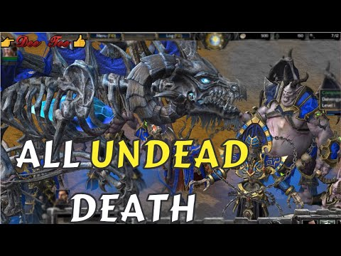 UNDEAD7- all units and Death - Warcraft 3 Reforged