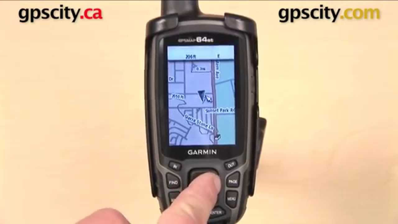 garmin gpsmap  series map settings with gps city. garmin gpsmap  series map settings with gps city  youtube