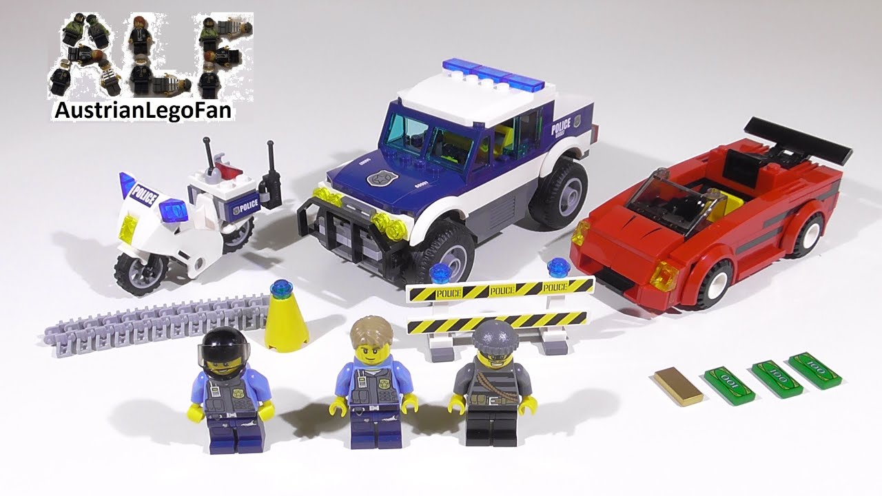 Lego City High Speed Chase Speed Build
