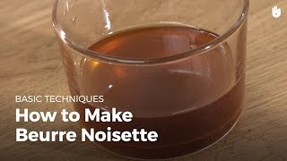 How to make beurre noisette