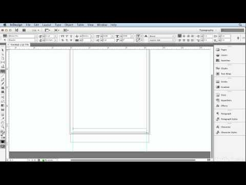 Creating a Letterhead [InDesign CS6]