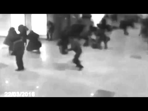 Brussels Airport Attack by Bomb from ISIS (New Video ) 22.03.2016