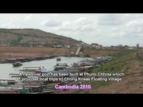 New Port at Phumi Chhma village on Tonle Sap Lake - Cambodia