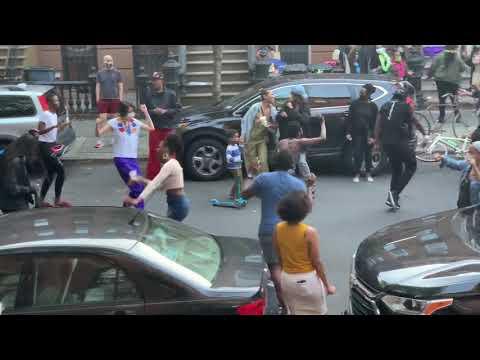 Brooklyn social distance block party