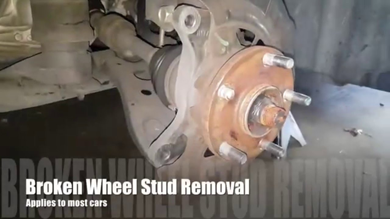 Wheel Stud Replacement  YouTube