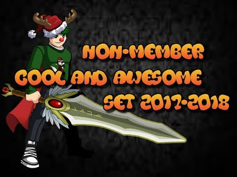 [AQW] COOL AND AWESOME FREE SET [Non-Member] (2017-2018) !Fast Notice! Going RARE?