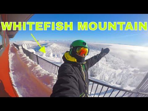 Whitefish Mountain Resort 4k Go Pro Edit