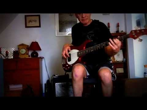 """Bass Backing track """"All of me""""  trad. jazz"""