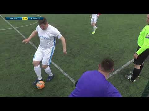 Матч повністю | ФК Яско (Вінниця) 5 : 0 Агромат-2
