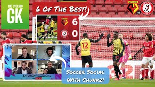 MASSIVE WIN | Chatting With CHUNKZ | 2 Watford LEGENDS | Ben Foster - TheCyclingGK