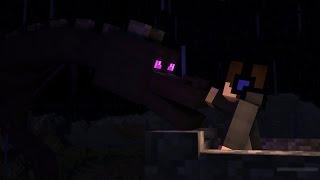 Подружился с драконом (Minecraft mini-game Lucky Islands)
