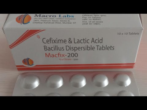 Cefixime dispersible tablets 100,200 dry syrup Mp3