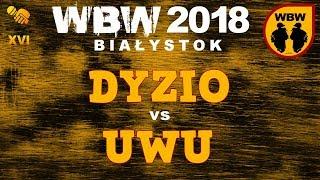 bitwa DYZIO vs UWU # WBW 2018 Białystok (1/8) # freestyle battle