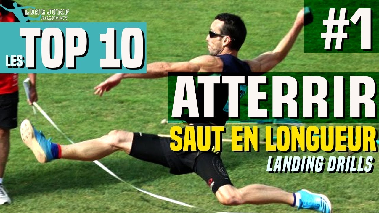 Athlétisme : Atterrir en saut en longueur pour sauter loin