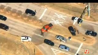 Oklahoma City Police Chase 3-13-2014