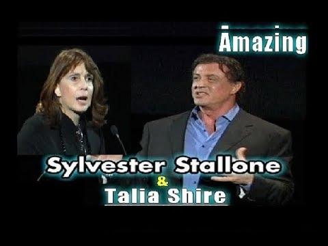 Sylvester Stallone & Talia Shire duce ROCK