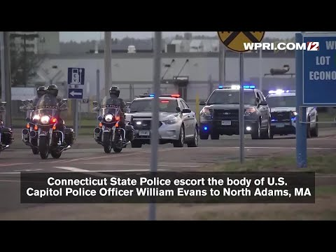 Funeral being held for Capitol Police Officer William Evans