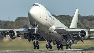 BOEING 747 LANDINGS and DEPARTURES - Challenge accepted! (4K)