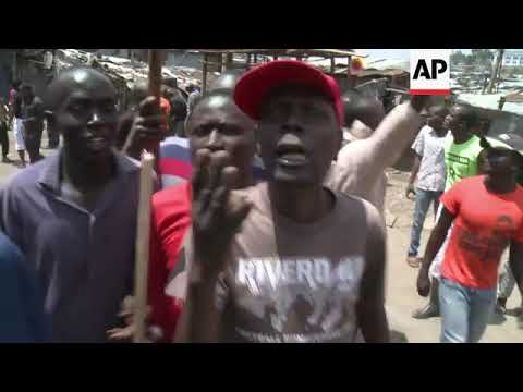 Clashes in Mathare after Kenyatta victory upheld