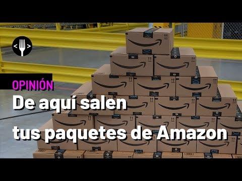 De aquí salen todos tus paquetes de Amazon