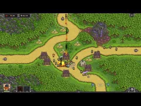 Lost Jungle - Veteran Heroic Challenge - Kingdom Rush Frontiers |