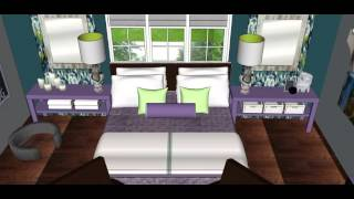 Transformation Tuesdays #2 - Interior Design Relaxing Master Bedroom Makeover for Mom of 3