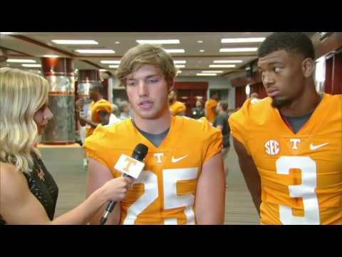 Tennessee Football Media Day 2016