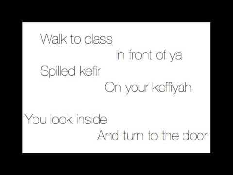 Campus - Vampire Weekend (Animation/Lyrics)