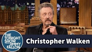 Christopher Walken Watches a Clip of Himself as a Child Actor