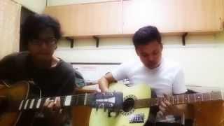 cover lagu ungu (luka disini) Ronie & Pitunk