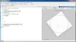 Matlab - ezsurf - Vẽ mặt trụ - Cylinder