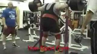 bodybuilder breaks leg WARNING. EXTREME