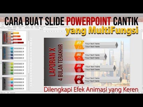 Cara Membuat PowerPoint Cantik yang Multifungsi