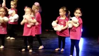 Teddy Bear Hug Lilys dance recital 2013