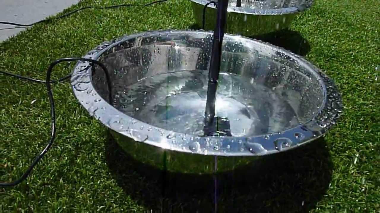 Solar Water Fountain Kit Doovi