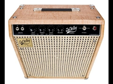 The Jim Kelley Reverb amplifier, demo by Pete Thorn