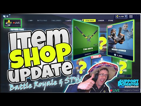 💥menamescho's-live-🔵-bravo-leader-🌐-item-shop-update-📸-fortnite-battle-royale---12th-august-2019