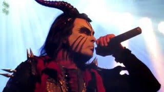 "Cradle of Filth - ""Humana inspired to Nightmare"" / ""Heaven torn Asunder"" (live Antwerp 2015)"