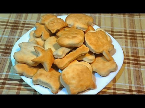 Самый простой рецепт печенья без масла