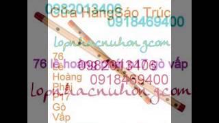 Nơi mua sáo trúc giá rẻ, chất lượng tốt o go vap tphcm - 0982013406
