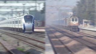 Train 18 Vs Gatimaan Express !! Who won?