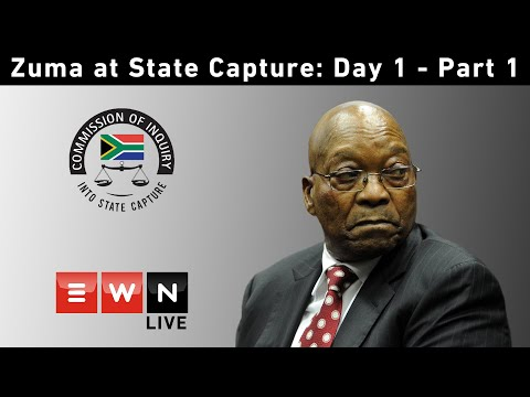 LIVE: Part 1 - Former President Jacob Zuma at the Commission into State Capture