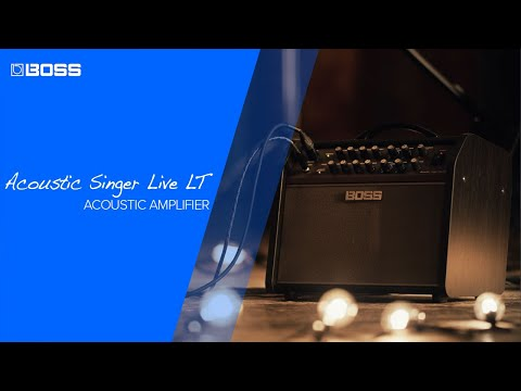 Introducing the BOSS Acoustic Singer Live LT
