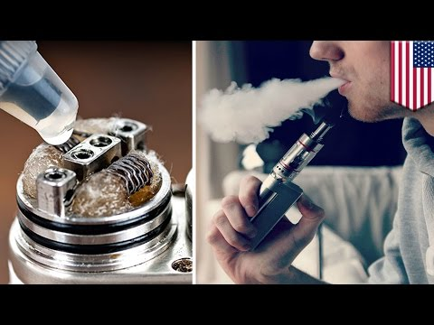 Dripping vape: Teens using e-cigarettes for 'dripping' has experts concerned