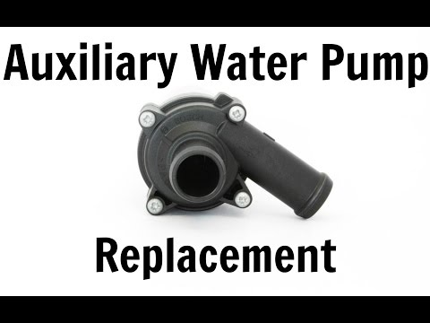 VW T4 Transporter 1.9 TD Auxiliary Water Pump Replacement & Coolant Change