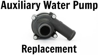 vw t4 transporter 1 9 td auxiliary water pump replacement coolant change