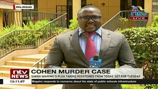 Tob Cohen family wants Sarah Wairimu's lawyer disqualified from case
